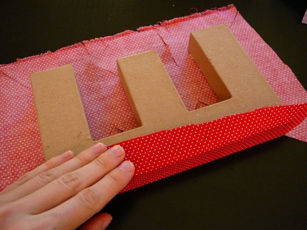 chemistry couture fabric covered letters a tutorial